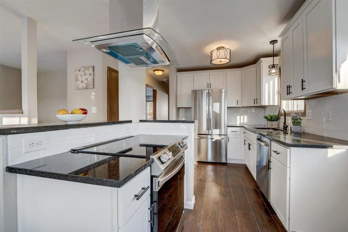 After renovation in kitchen